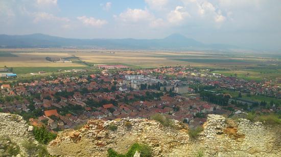 Rasnov Citadel: 要塞からの眺め