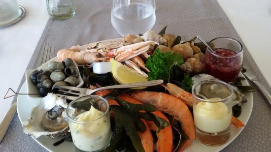 Le Calluna : entrée de fruits de mer