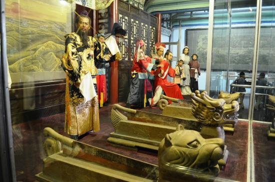 Kaifeng County, China: The character of Bao Zheng as described in movie.