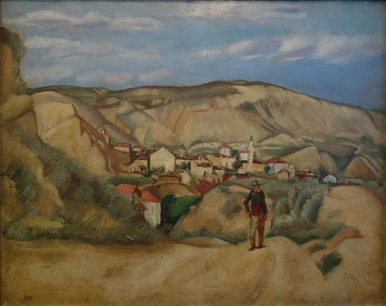 Iosif Iser: Landscape in Dubruja - Balcic - Picture of Muzeul Coleckiilor de Arta, Bucharest - Tripadvisor