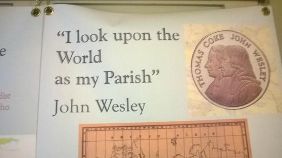 John Wesley's Chapel: no lack of vision then