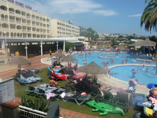 Pool Picture Of Hotel Evenia Olympic Park Lloret De Mar Tripadvisor