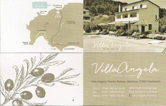 Villa Angela: our new bussines card