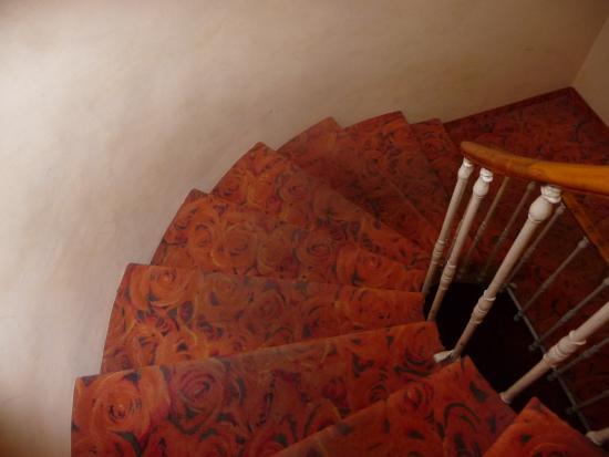 Hotel La Gioconda: escalier commun