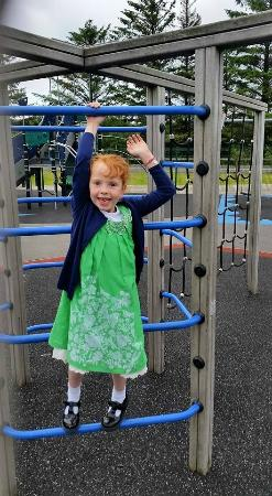 Abocurragh Farm Bed and Breakfast: play park in Black Lion brilliant 15 mins away