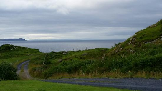 The Monachs: The view from the front Patio.  (Northern Ireland)
