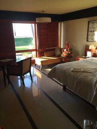 Ocean Front Suite Bedroom Picture Of The Westin Denarau