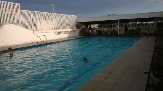 Grand Menseng Hotel: the swimming pool