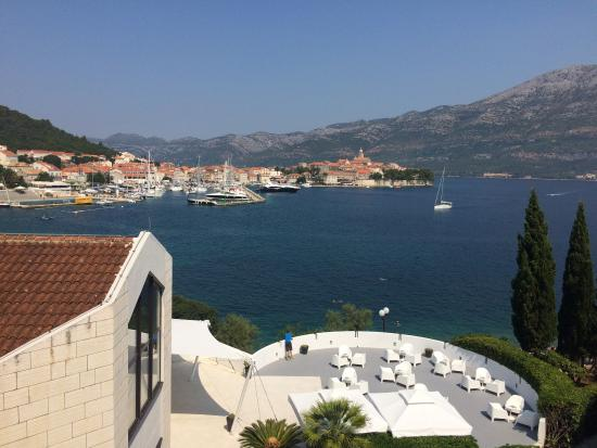 Stunning Korcula, almost a 5/5 for hotel.