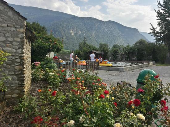 Happyland : Décoration fleurie