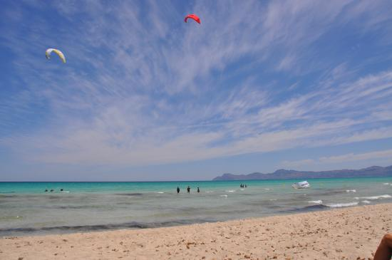 Playa de Muro, Spain: Kite surf avec Marc