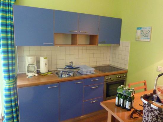 Naturist Park Koversada Apartments: Küche