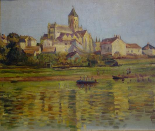 The Art Collections Museum: Maxime Maufra: Landscape with Cathedral