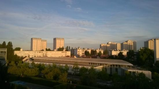 Ibis Budget Orly Chevilly Tram 7 : Vue de notre chambre