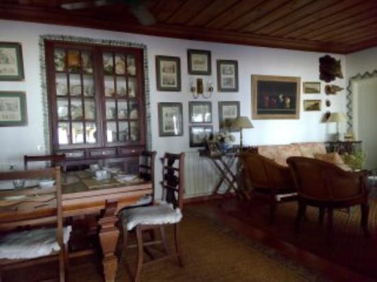 Quinta da Anunciada Velha: sala colazione
