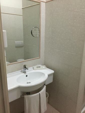 Best Western Cesena Hotel : Lavandino del bagno