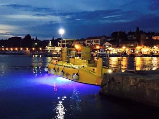 Semisubmarine Malinska: Semisubmarine by night