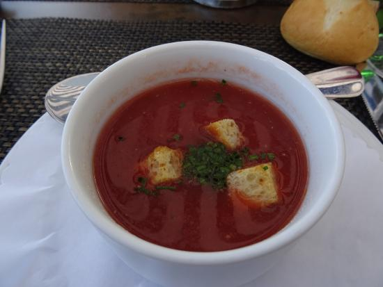 Restaurant Allegra im UTO KULM: Gazpacho