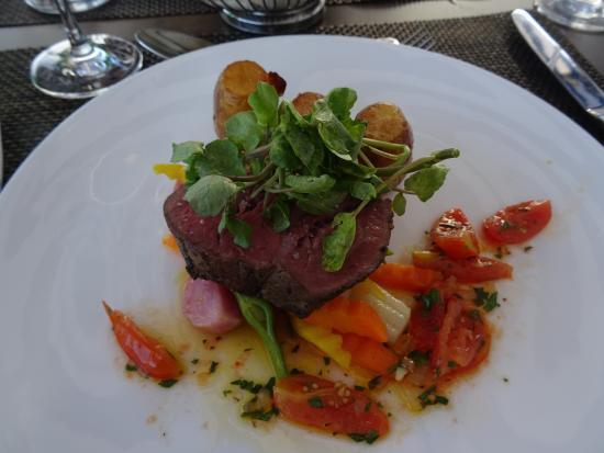 Restaurant Allegra im UTO KULM: Rindsfilet (gut aber klein)
