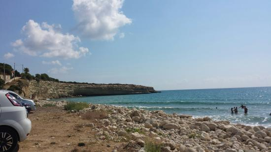 Avola, Ιταλία: Spiaggia di Gallina
