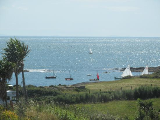 Plas Darien Self-Catering Apartments : view from window