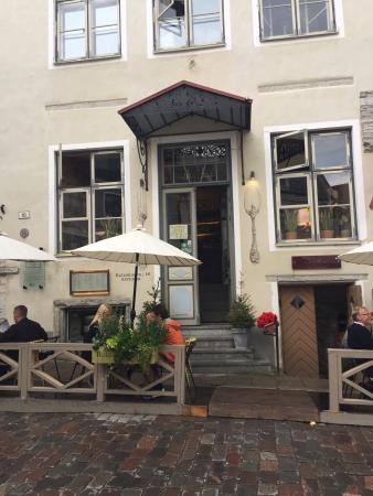 Best Restaurant in Tallinn