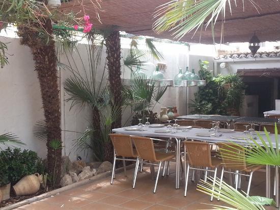 Terraza Trasera Picture Of Restaurant Casa Pedro Jesus
