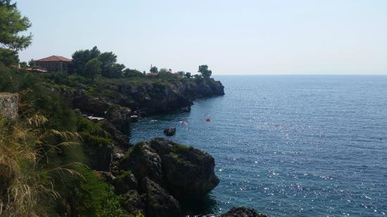 Litsa Apartments: Zwemplateau Agios Nikolaos