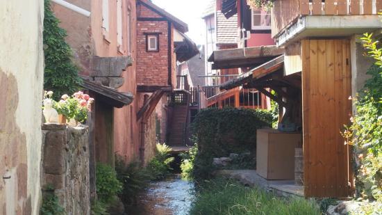 Hostellerie Schwendi: Kientzheim village