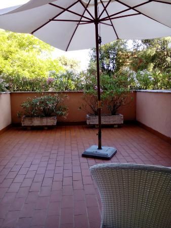 Hotel Miramare: my terrace