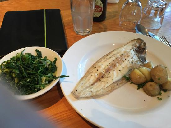 The Cliffe Kitchen at The White Cliffs Hotel: Doversole