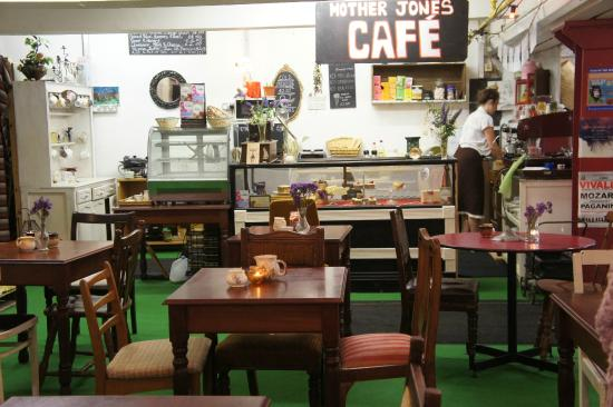 Mother Jones Flea Market: Refuel at the cafe