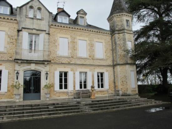 Gabarret, Francia: L'entrée de l'hôtel