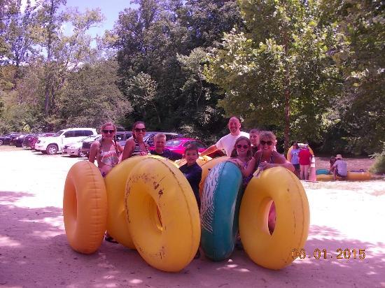 Green River Cove Tubing: Group photo