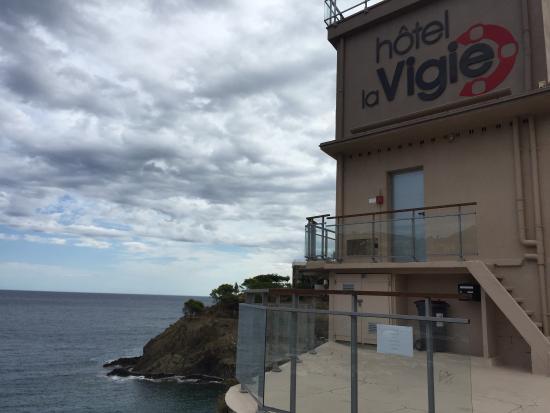 Hotel La Vigie: From outside