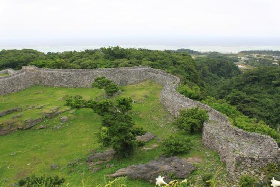 歩き易い階段遊歩道 - Picture of Nakijin Castle Remains, Nakijin-son - TripAdvisor
