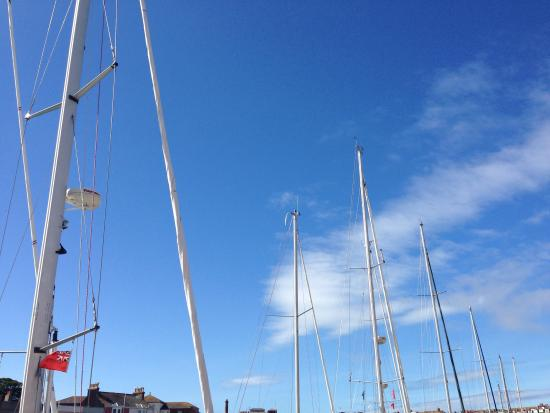 Weymouth, UK: Beautiful Masts