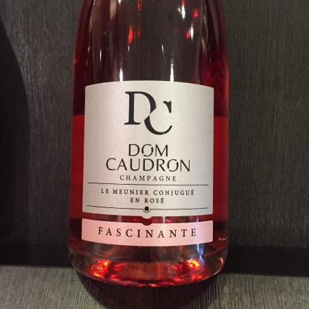 Champagne Dom Caudron: The rose champagne