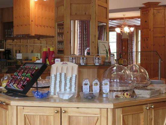 Alpengasthof Zeinisjoch: Ontbijtbuffet