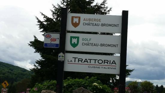 Auberge Bromont: L'entré