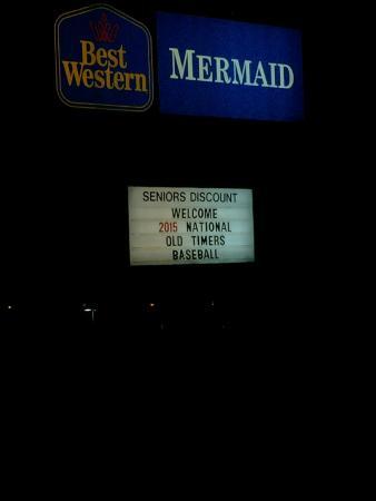 BEST WESTERN Mermaid Yarmouth : Signage