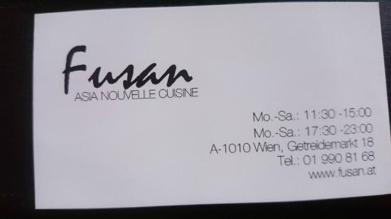 Fusan Nouvelle Restaurant