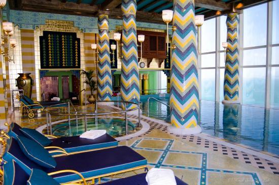 Burj Al Arab Jumeirah Inside Pool Area