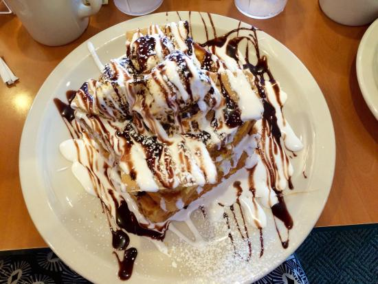 Apple Villa Famous Pancakes: S'mores French Toast