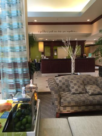 Part Of The Lobby At Hilton Garden Inn Picture Of