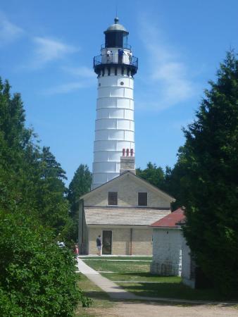 Baileys Harbor, WI: Cana Island Lighthouse