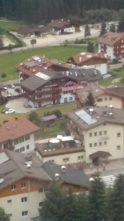 B&B Apartments Cesa Planber: Vista dalla cabinovia belvedere