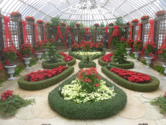 Phipps Conservatory Christmas 2019.Botanical Garden Pittsburgh