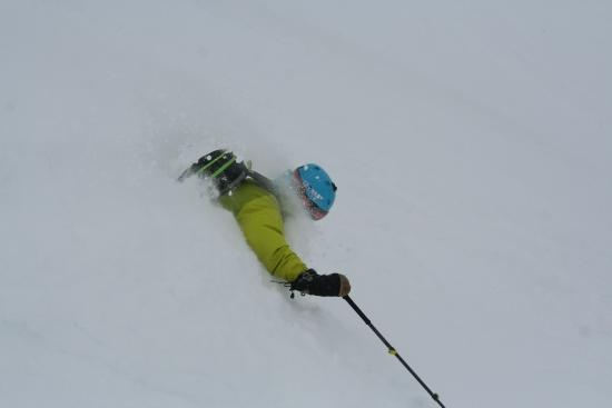Tarnaby Fjallhotell: Lots of snow in winter