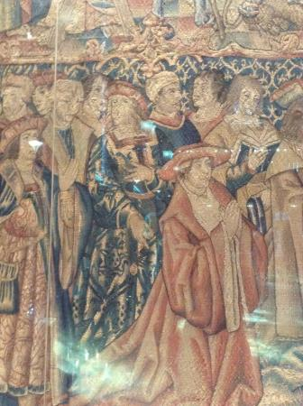 Coventry, UK: Tapestry (an early representation of Rlll?)